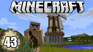 Minecraft Survival Indonesia - Windmill untuk Farm Tercinta! (43) thumbnail