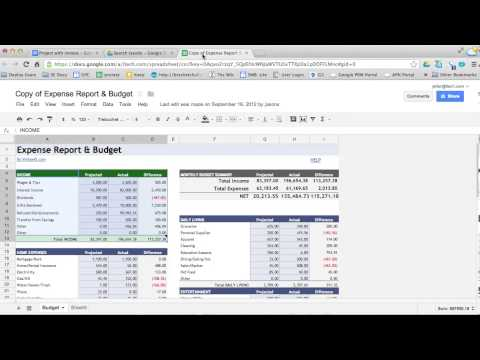 How To Copy And Paste In Google Spreadsheets - Video Tutorial
