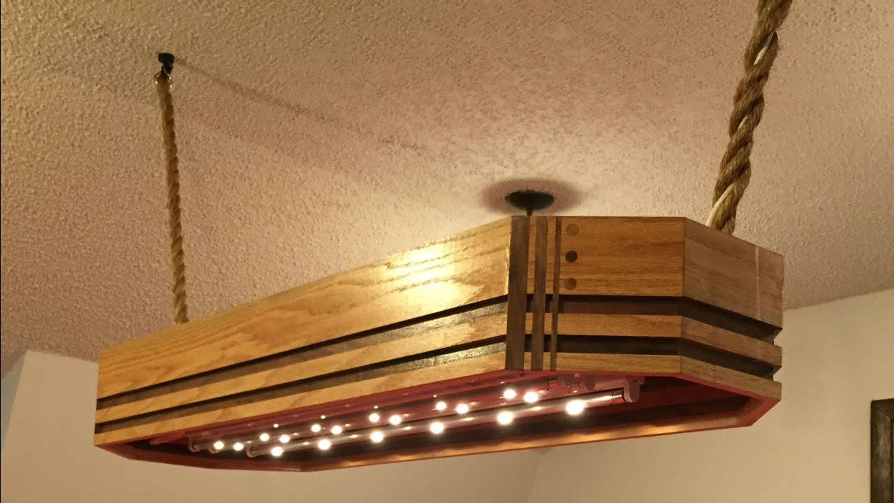 Attractive Custom Pool Table Light   YouTube