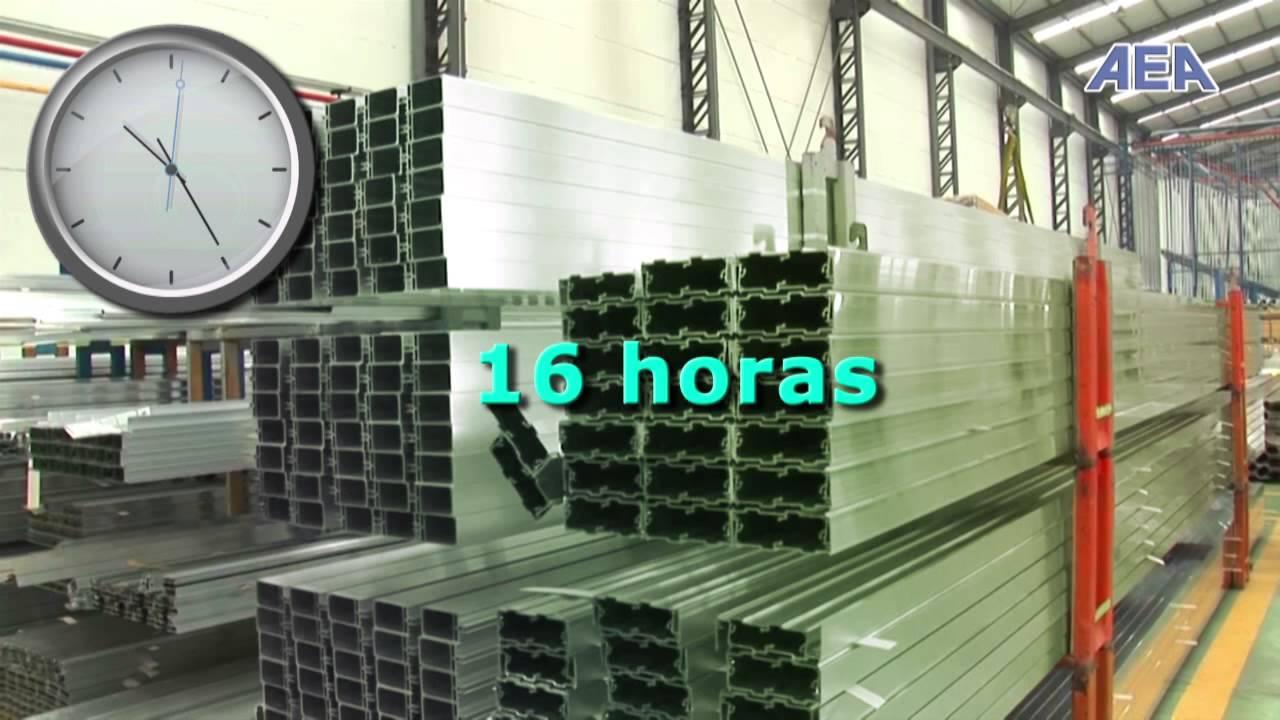 El lacado del aluminio v2 youtube - Pintar aluminio lacado ...
