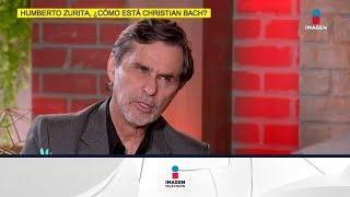 ¡Humberto Zurita cuenta cómo está Cristian Bach de salud! | De Primera Mano