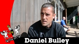 Daniel Bulley of Olivet College chats at the Cat & Fiddle | Exeter City Football Club
