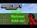 Minecraft Pocket Edition | How To Make a Fidget Spinner [ADDON]