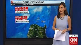 Typhoon Butchoy: Weather update, class suspensions