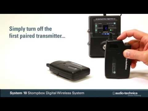 Audio-Technica System 10 Stompbox Digital Wireless System