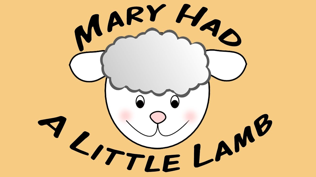 Mary Had A Little Lamb Sing Along Song For Children