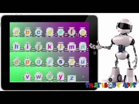 ABC Videos Song with cute Robots by Interactive Alphabets Learning Educational BEST My ABC