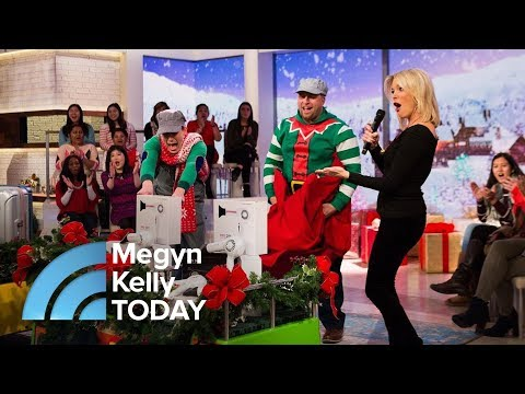 Megyn Kelly Audience Receives American Tourister Luggage, Blow-Dryers | Megyn Kelly TODAY