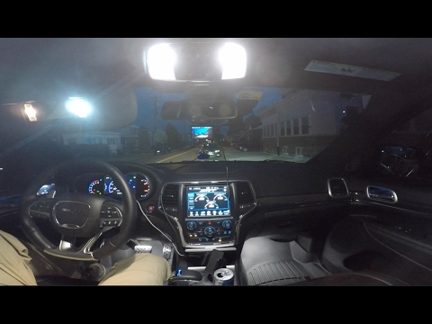 Jeep Grand Cherokee Srt Interior Led Light Swap