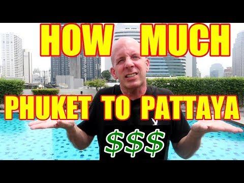 TRAVEL COST FROM PHUKET TO PATTAYA V330
