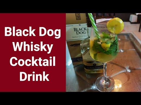 Black Dog Whisky Cocktail Drink ! व्हिस्की  से कॉकटेल ड्रिंक कैसे बनाये !