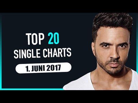 TOP 20 SINGLE CHARTS - 1. JUNI 2017