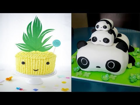 Top 10 Most Satisfying Cake Style Video - Cake Style 2017 -Amazing Cakes Decorating Techniques 2017