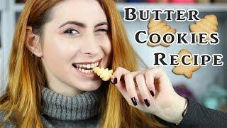 Τα πιο νόστιμα μπισκότα βουτύρου | Εύκολη Συνταγή | DoYouSpeakGossip?
