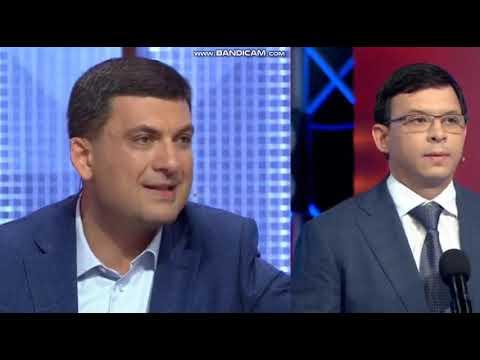 Перепалка Гройсман Мураев