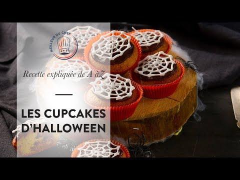 recette-facile-et-rapide-pour-halloween-:-les-cupcakes-toile-d'araignée-!