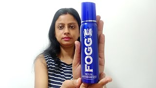 Fogg Royal Fragrance Body Spray For Men amp Women FOGG DEO Review in Hindi amp Price
