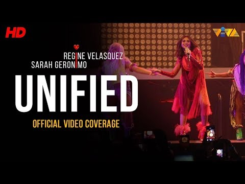 [#UNIFIED Concert] Sarah Geronimo's Powerful Performance of TALA!