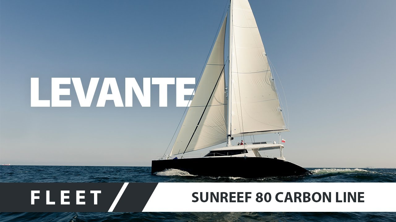 Sailing Catamaran Superyacht - Sunreef 80 Carbon Line LEVANTE