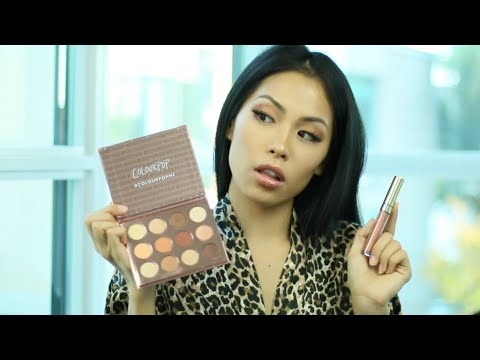 Colourpop Double Entendre Palette & Glossy Lip Lay-Z Review Swatches Try On