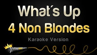 4 Non Blondes - What's Up (Karaoke Version)