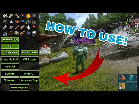 HOW TO USE ADMIN CONSOLE FEATURES ARK MOBILE - YouTube