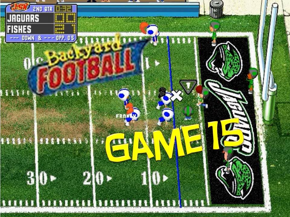 Backyard Football 1999 (PC) Game 15: Quitting is Not an ...