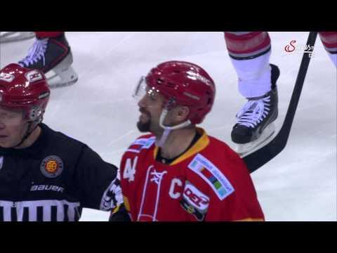 Hockeyshop Forster Cable Guys DEG Ashton Rome und Philip Riefers von den Kölner Haien