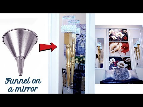 DIY WITH FUNNELS!!! QUICK AND EASY ROOM DECORATING IDEAS 2019!