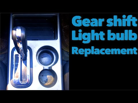How To Change A Ford Edge Gear Shift Light