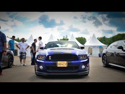 Ford Mustang Shelby GT500 vs Corvette Z06 vs Panamera vs GT-R vs Gallardo