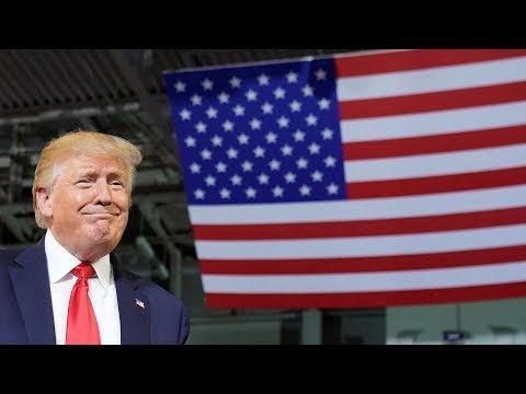 Watch live: Trump hosts flag presentation ceremony I NBC News