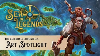 Sea of Legends: Art Spotlight