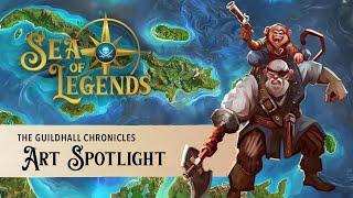 Sea of Legends: Art Spotlight