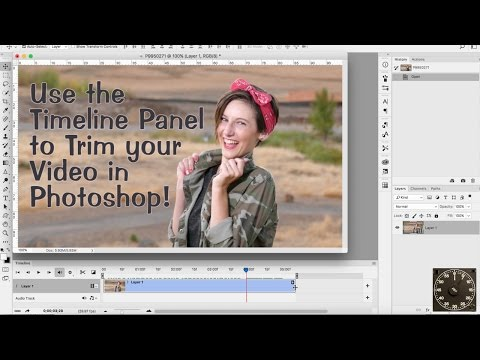 Timeline for Video in PSCC 2017 - Photoshop In a Minute