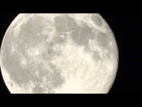 Watch The Slow Movement Of The Blue Moon