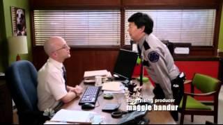 Community S03E12 Chang with his Renée Zellweger Pout
