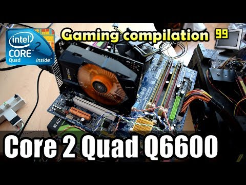 25 Games on Core 2 Quad Q6600 (BF1, GTA5, W3, WD2, PC2 & More)