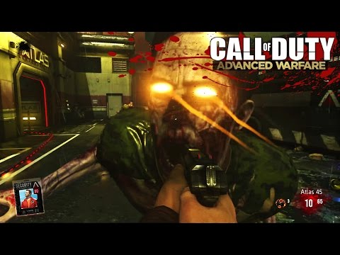 Advanced Warfare EXO ZOMBIES LIVE! - Round 30 Full Easter Egg  w/ Hike - (Call of Duty Zombies DLC)