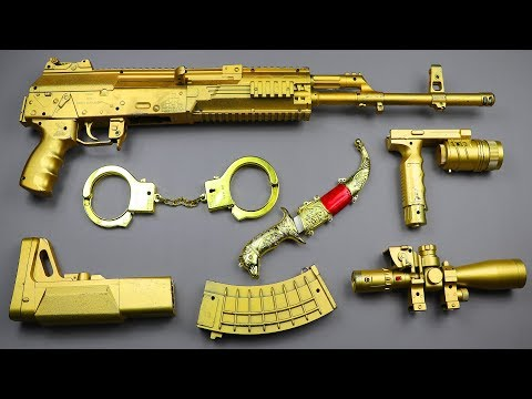 Realistic Sniper Toy Gun | Ball Bullet Machine Gun Toy | Sniper Rifle Adventure Shooting Toy Guns