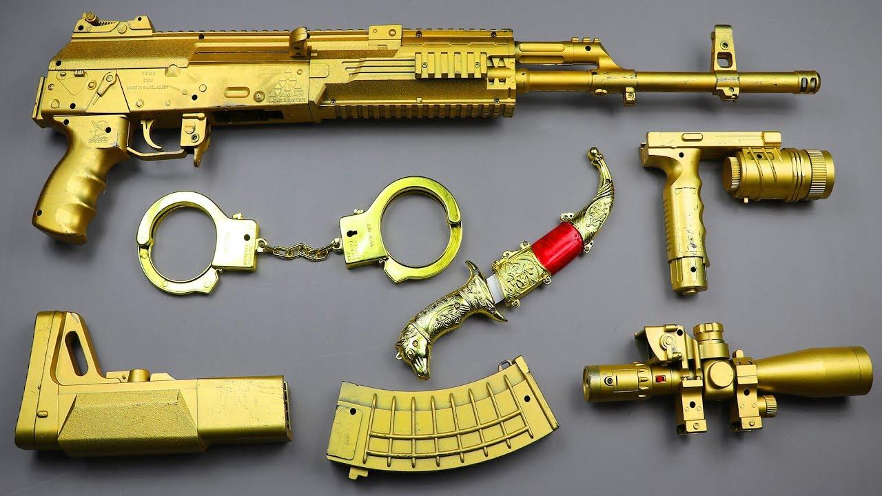 Realistic Sniper Toy Gun | Ball Bullet Machine Gun Toy | Sniper Rifle Adventure Shooting Toy Guns #1