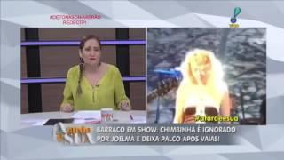 Sonia Abrão Detona Joelma ,