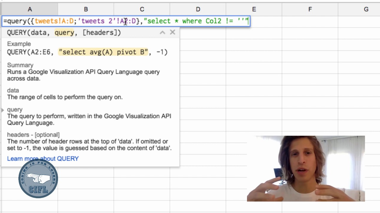 Query multiple Google Sheets: importrange + {} = friends