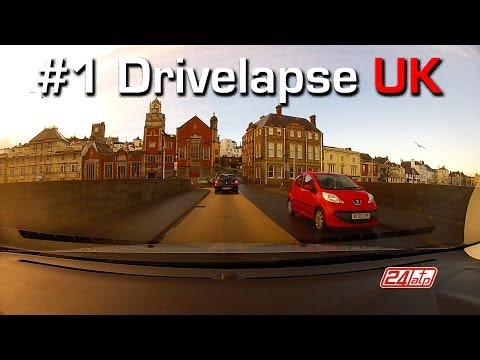 Drivelapse Uk #1 Bideford A386 To Fairy cross A39 Driving Th