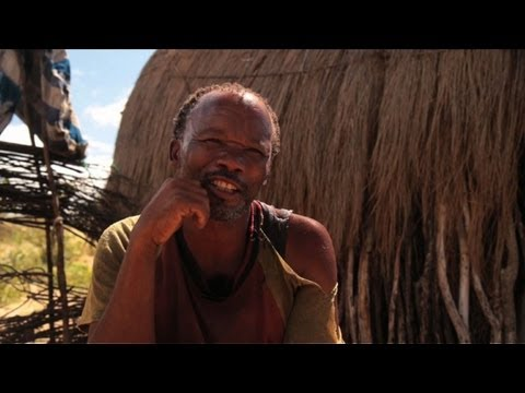 Botswana's bushmen thirst for old ways of life