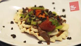Tost Makinasında Waffle Nasıl Yapılır (Enfes Yemek Tarifleri)