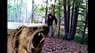 Wooden Hunting Spear How-to Diy Bushcraft Video