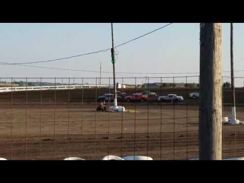 7-14-17 Wagner Speedway heat race