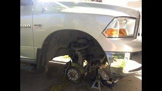 hemi exhaust manifold leak repair broken bolt extraction passenger side