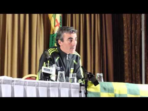 Jim McGuinness Press Conference pre Dublin game
